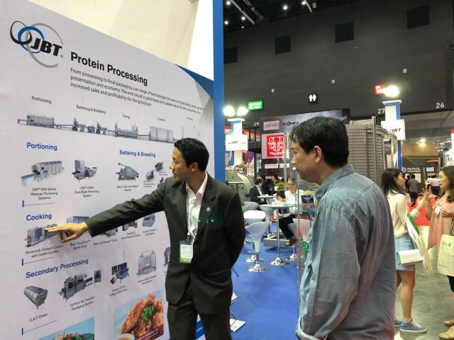 JBT at ProPak Asia (Protein products)